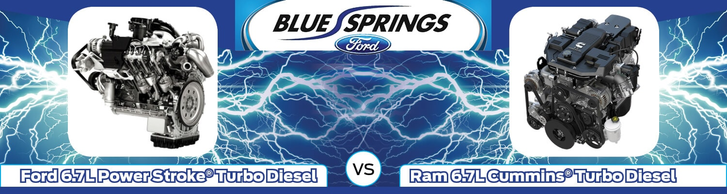 Ford 6.7L Power Stroke Turbo Diesel vs. Ram 6.7L Cummins Turbo Diesel