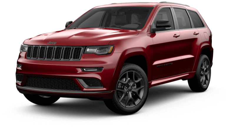 2019 Jeep Grand Cherokee Limited X - Velvet Red