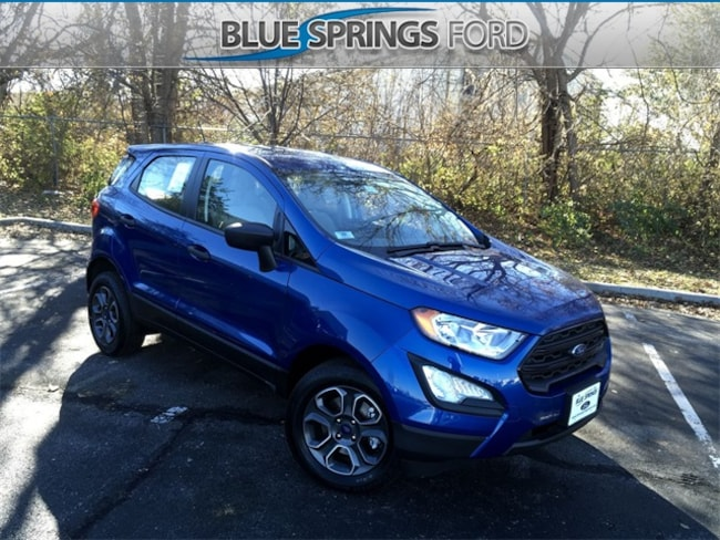 New 2018 Ford EcoSport S SUV in Blue Springs, MO