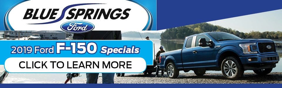 2019 Ford F-150 Specials Banner