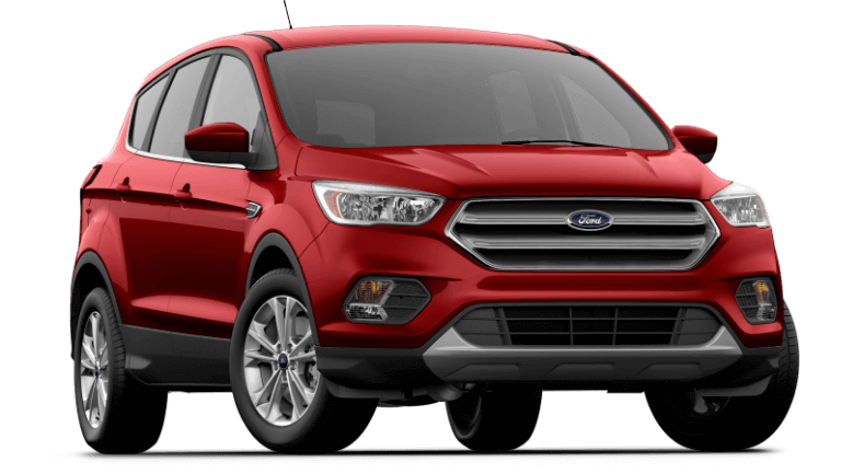 2019 Ford Escape SE - Ruby Red
