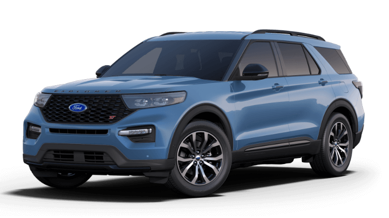 2020 Ford Explorer ST - blue