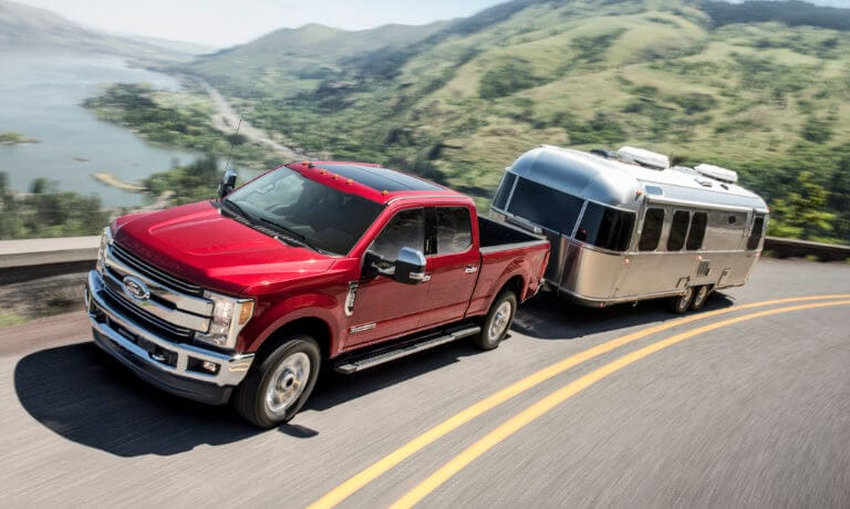 2019 Ford F-250 exterior towing trailer