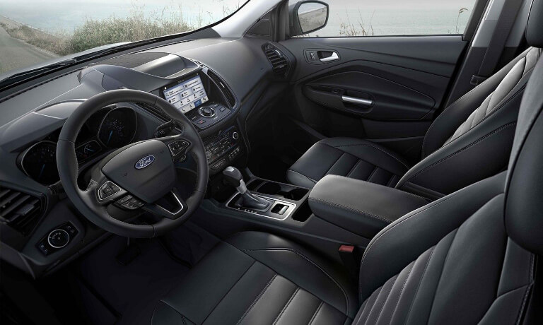 2019 Ford Escape front interior view
