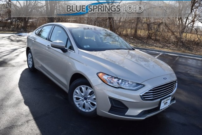 New 2019 Ford Fusion S Sedan in Blue Springs, MO