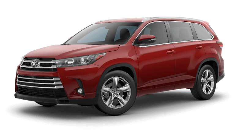 2019 Toyota Highlander Limited - Salsa Red