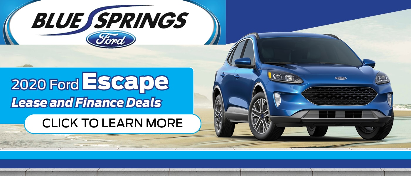 2020 Ford Escape Specials Banner