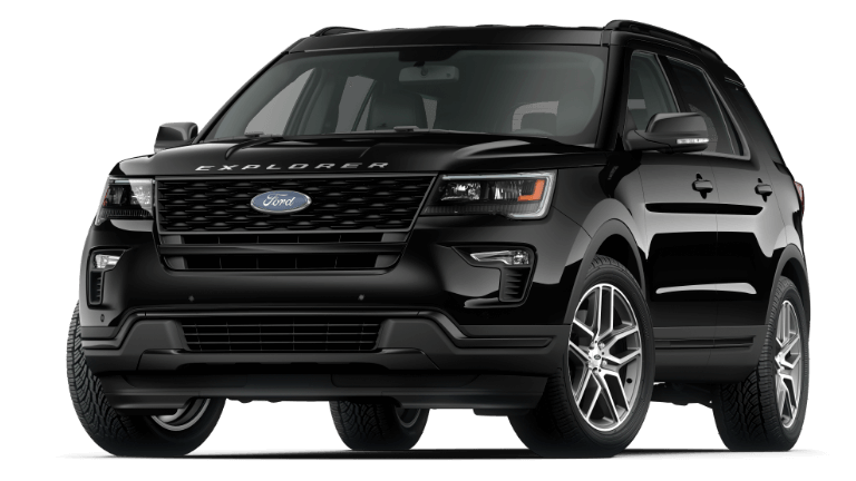 2019 Ford Explorer Sport - Agate Black