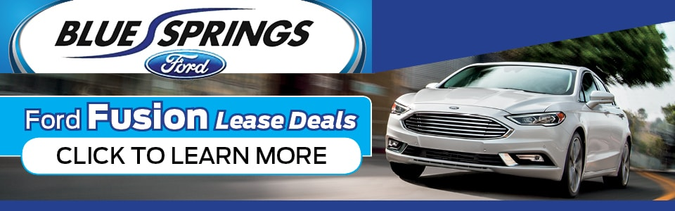Ford Fusion Lease Deals