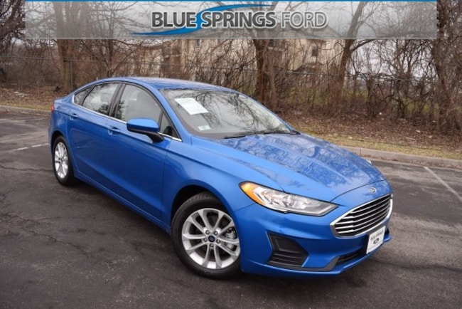 New 2019 Ford Fusion SE Sedan in Blue Springs, MO