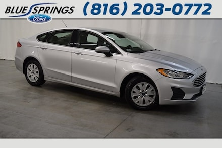 Featured Used 2019 Ford Fusion S Sedan in Blue Springs MO