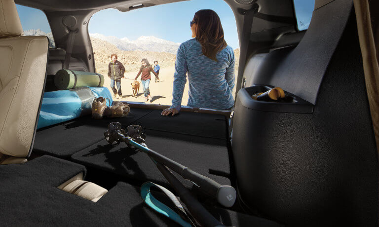 2019 Ford Explorer interior cargo space