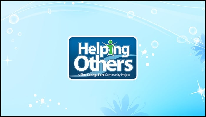 Helping Others Blue Springs Ford