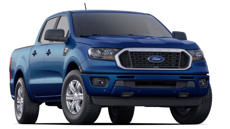2019 Ford Ranger XLT - Lightning Blue
