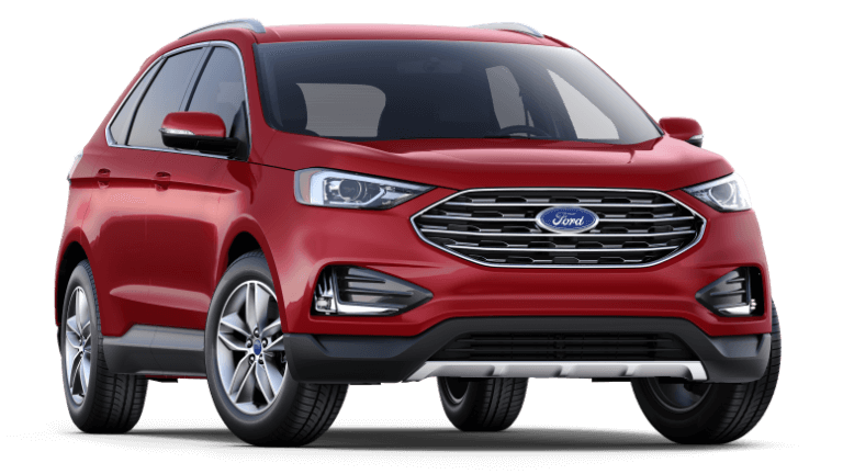 2019 Ford Edge SEL - Ruby Red