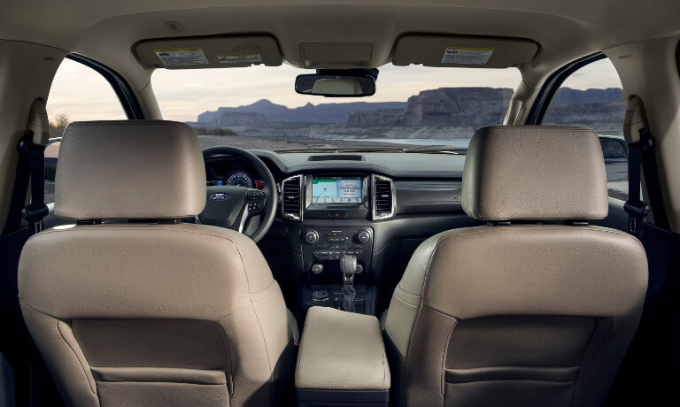 2021 Ford Ranger Interior front dashboard picture