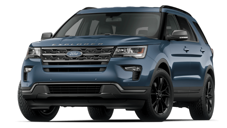 2019 Ford Explorer XLT - Blue