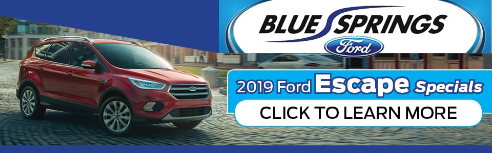 2019 Ford Escape Specials Banner