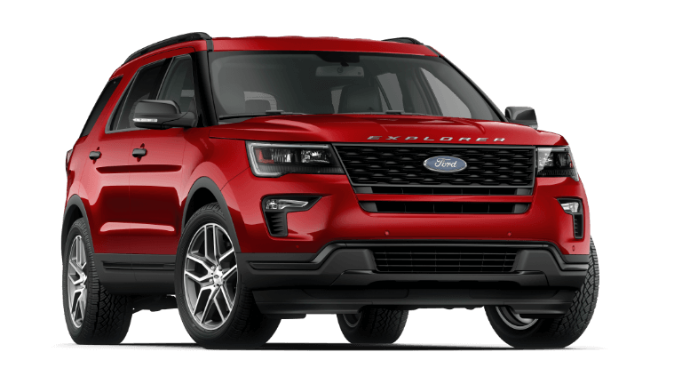 2019 Ford Explorer - Ruby Red