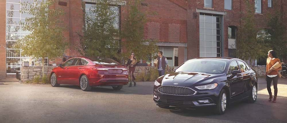 2019 Ford Fusion Trim Comparison