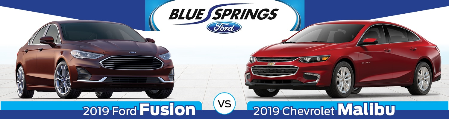 2019 Ford Fusion vs. 2019 Chevy Malibu Comparison