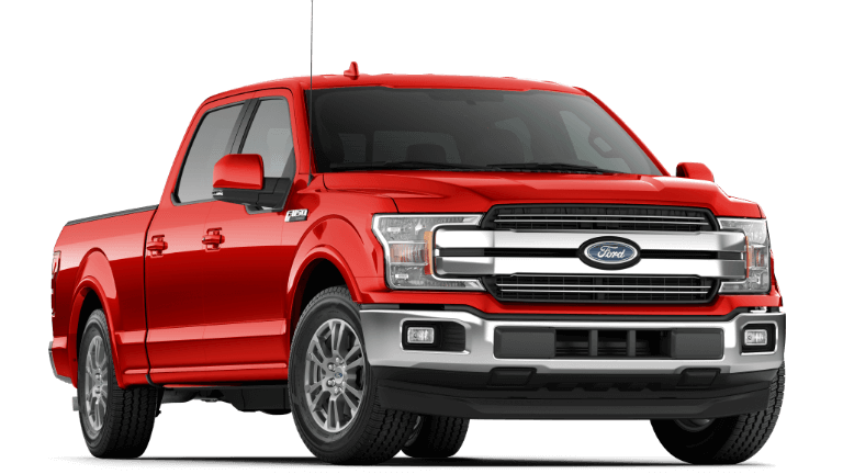 2019 Ford F-150 Lariat - Race Red