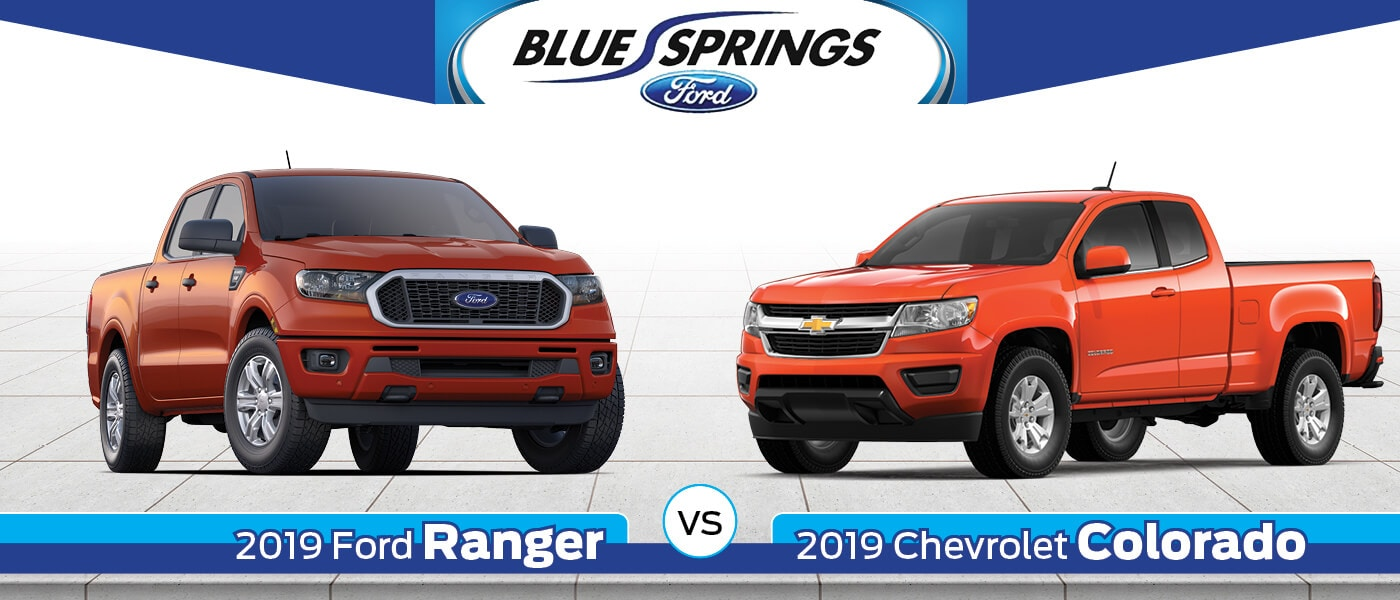2019 Ford Ranger vs. 2019 Chevy Colorado
