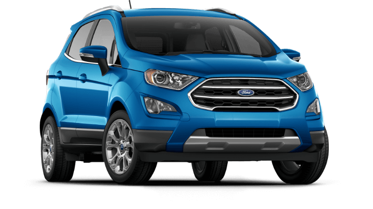 2019 Ford EcoSport Titanium - Blue Candy