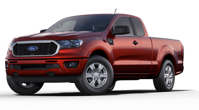 2019 Ford Ranger XLT - Hot Pepper Red
