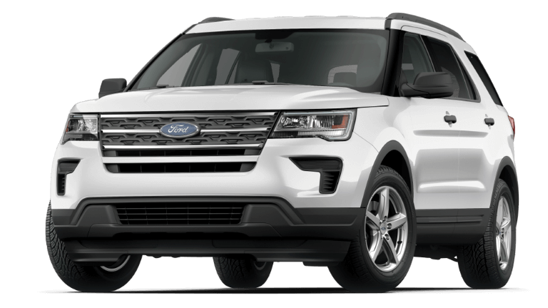 2019 Ford Explorer Base - Oxford White