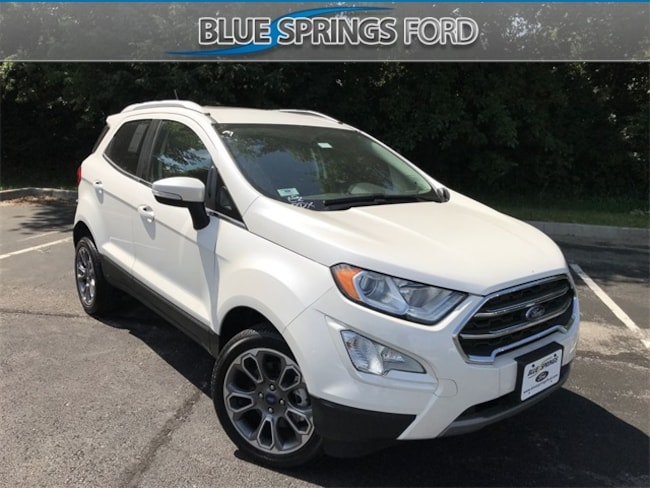 New 2018 Ford EcoSport Titanium SUV in Blue Springs, MO