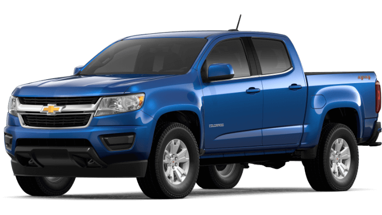 2019 Chevy Colorado LT - Kinetic Blue