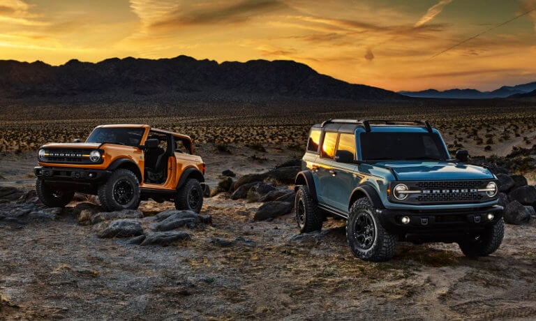 2021 Ford Bronco Exterior view