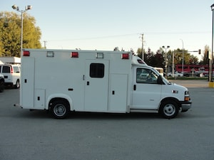2009 Chevrolet Express 3500 AMBULANCE DIESEL