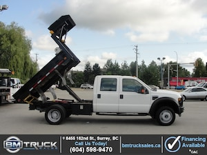 2009 Ford F-550 Chassis DUALLY DUMP TRUCK