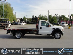 2009 Ford F-550 Chassis DUALLY FLAT DECK DIESEL