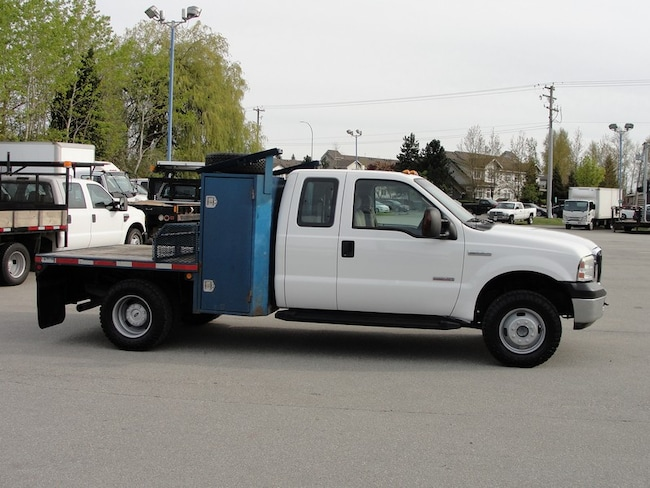 2006 Ford F-350 DUALLY FLAT DECK DIESEL Extended Cab