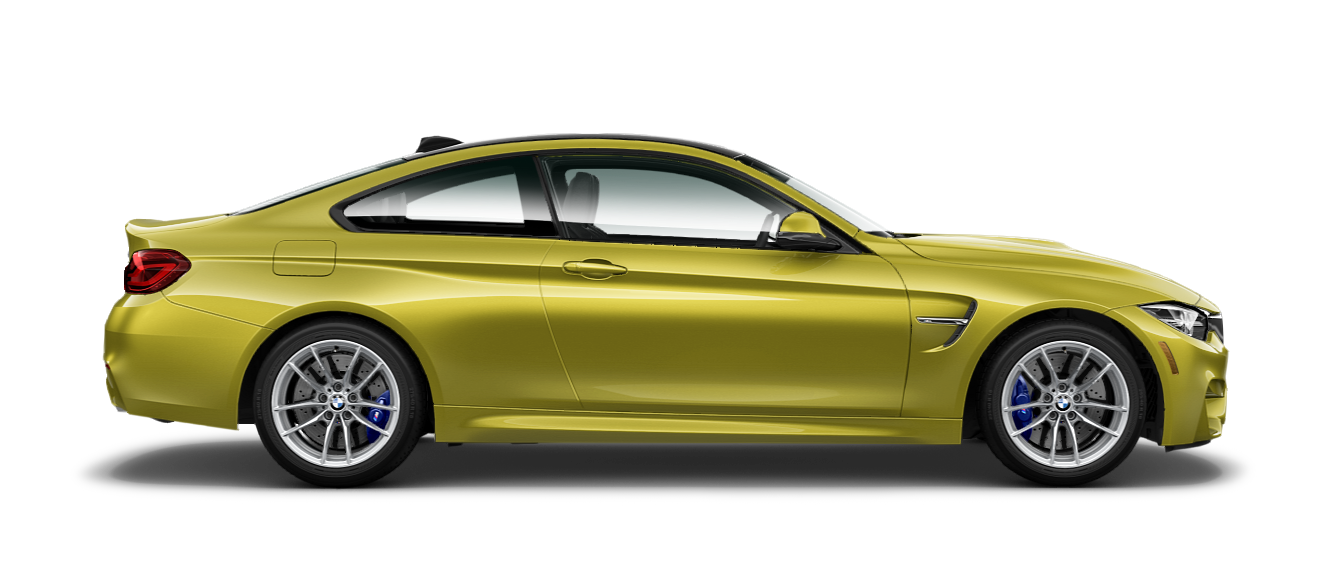 2018 BMW M4 in Austin Yellow Metallic