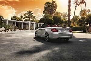 2018 BMW 2 Series in Glacier Silver Metallic