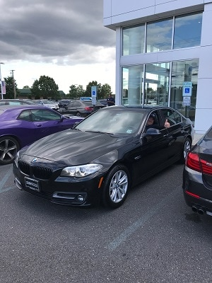 Another Happy Customer with black BMW
