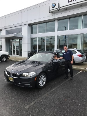 Happy Client in BMW