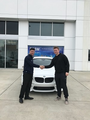 Car purchase at BMW AC