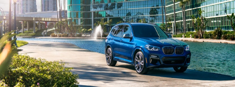 BMW X3 Blue