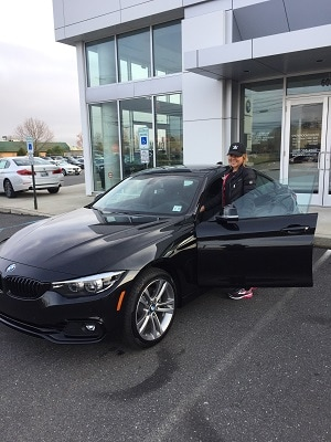 Elizabeth's First BMW