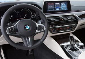 2018 BMW 5 Series Interior