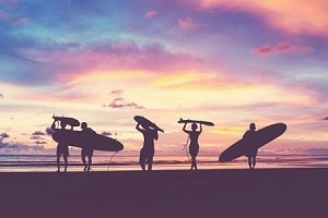 Surf Until the Sun Sets