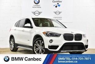 2016 BMW X1 xDrive28i-Serie Certifié- Gar 5 ans Km illi SAV