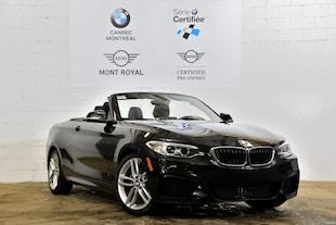 2016 BMW 228i xDrive-86$ Hebdomadaire-- Convertible