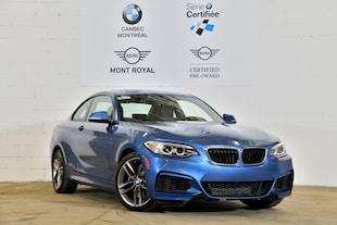 2015 BMW 228i xDrive-Groupe track M-Certifié- Coupe