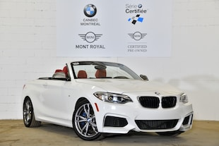 2015 BMW M235i Convertible - 6 vitesses man. - Convertible